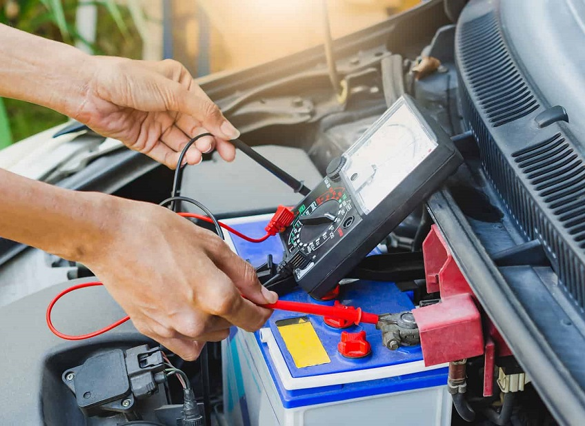 a car battery last without driving